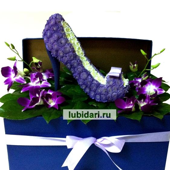 Туфельки цветы фото