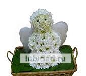 Добрый Ангел из цветов