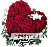 Подарок из живых цветов