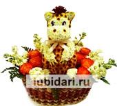 Дино Джурасик из цветов